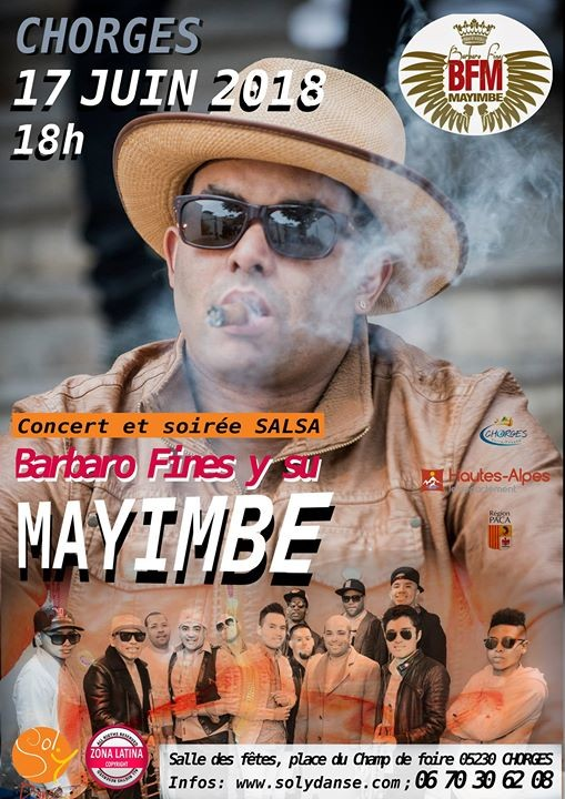 Concert Salsa Mayimbe - Chorges
